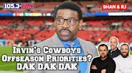 Irvin Talks Anthem, Russ Trade Rumors, and his Cowboys Priorities