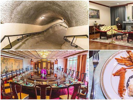 50年來首次開放!遊圓山飯店東密道、孔二小姐故居,還能嘗5任元首國宴菜