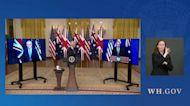 U.S., Britain and Australia announce Indo-Pacific defense pact