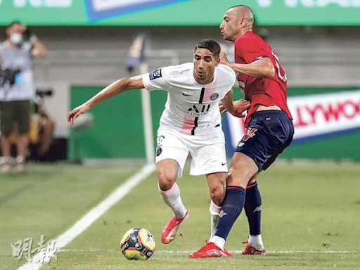 PSG法冠盃飲恨 新兵阿舒拉夫遭柴台 - 20210803 - 體育