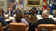 Biden insists US 'following the science' on masks
