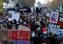 法國整體安全法爭議延燒 巴黎5萬人上街怒求撤回│TVBS新聞網