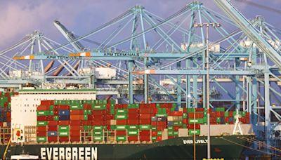 「長灘港只有7台起重機在動」美塞港恐比雷曼危機更危險