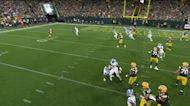 All-Aaron hat trick! Rodgers and Jones link up for THIRD TD connection