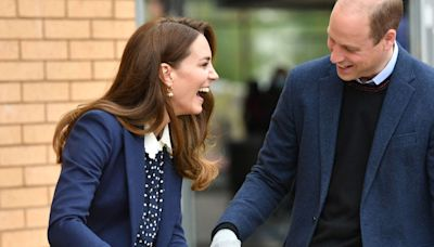 Kate Middleton and Prince William Went Out in Matching Navy Outfits Because Why Not