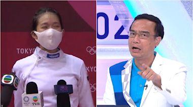 東京奧運|江旻憓止步八強落淚致歉 鍾志光:係我哋多謝你就真