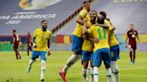 Neymar stars as Brazil thrash Venezuela in Copa America opener