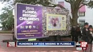 Hundreds of Florida's missing children remembered outside state capitol