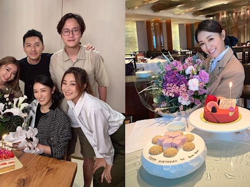 袁偉豪祝老婆30歲生日快樂 張寶兒:一直期待的年歲