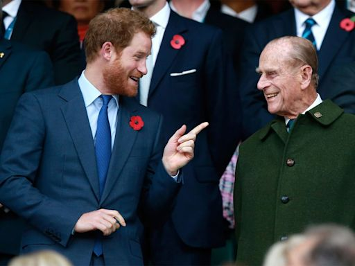 Prince Harry Arrives in the U.K. Two Days After Grandfather Prince Philip's Death