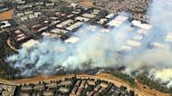 Wildfires in West cause air pollution