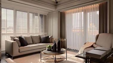 雋永唯美的新古典小豪宅!23.4坪規劃三房兩廳,還有高級吧台、專屬更衣室