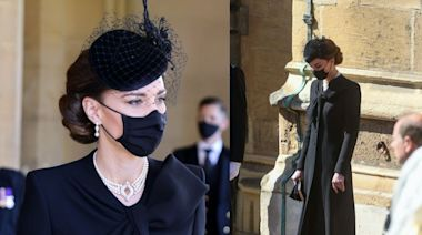 凱特出席菲臘親王葬禮造型大公開:不止珍珠項鏈成焦點,王室衣着還有這些規定!