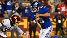 Giants takeaways from Thursday's 30-29 loss to Washington, including Daniel Jones' strong effort not being enough