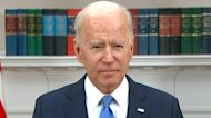 Biden urges people not to panic after Colonial Pipeline cyberattack