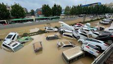 河南鄭州水災