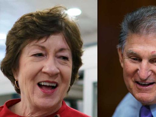 Susan Collins praises Joe Manchin in Time's 100 most influential people article