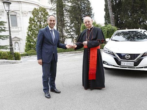 Nissan Leaf joins Vatican fleet