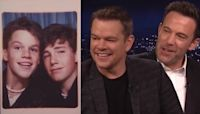 Matt Damon and Ben Affleck Laugh at Teenage Throwbacks of Themselves!