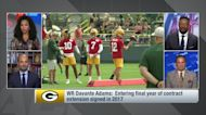 Davante Adams: I won't be 'a baby' by holding out of Packers camp
