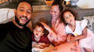 Chrissy Teigen & John Legend's Kids Celebrate Mom & Dad's Anniversary With Handmade Artwork