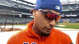 Javier Baez on re-signing with Mets: 'We'll see what happens in the offseason' | Mets News Conference