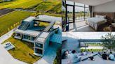 宜蘭民宿推薦「大地眺望」,清水模建築矗立稻田平原中,天橋上看星星、吃住都媲美星級飯店!