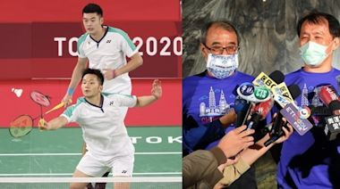 最棒父親節禮物!李洋從台灣帶「9支球拍線」全被打斷:老爸親手穿的 金牌一到手哽咽「歸功爸爸的愛」