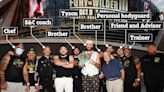 Meet Fury's 11-man team for Wilder, from brother Tommy to personal bodyguard