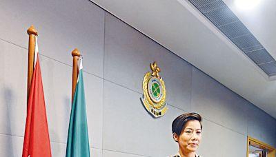 何珮珊成海關首位女關長 上任定四大目標首重維護國家安全