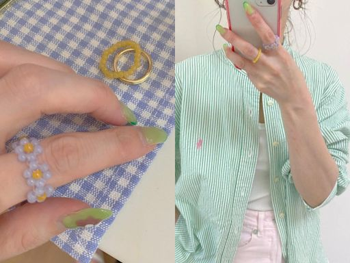 GU「小花戒指」好夏天!一組三個有多種戴法 只要不到200元