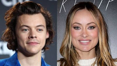 See Olivia Wilde React to Questions About Harry Styles Romance