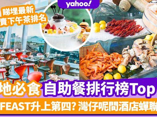 自助餐優惠|香港必食自助餐排名TOP 11!東隅FEAST升上第四 灣仔呢間酒店蟬聯榜首