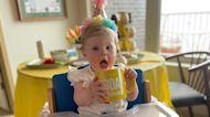 1-year-old celebrates birthday with Sunday TODY mug shot
