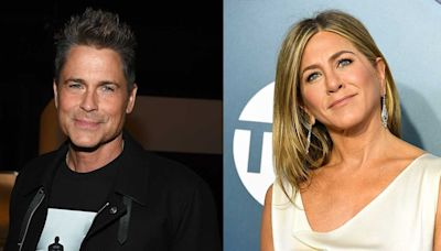Why Rob Lowe Believes Jennifer Aniston Opened Up to Him About the 'Melancholy' 'Friends' Reunion (Exclusive)
