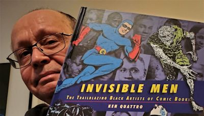 'Invisible Men' chronicles pioneering Black artists of the early comic book industry