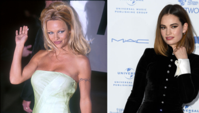 Lily James is absolutely unrecognisable as Pamela Anderson