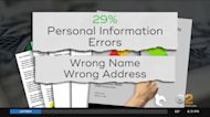 Errors Found On More Than 1/3 Of Credit Reports