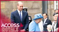 Prince William Joins Queen Elizabeth on Her First Trip to Scotland Since Prince Philip's Death