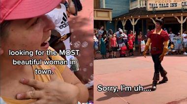 分手去迪士尼討拍!情傷女撩加斯頓「慘被二次傷害」心碎