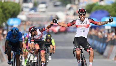 Molano se lleva el primer sprint en el Giro de Sicilia