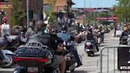 Sturgis Motorcycle Rally draws large crowds as the U.S. tops 5 million coronavirus cases
