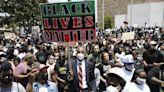 示威趨平和 好萊塢2萬人上街