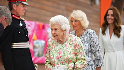 Kate Middleton Joins Queen Elizabeth and Camilla, Duchess of Cornwall, to Meet Local Platinum Jubilee Planners
