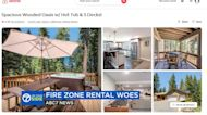Airbnb refuses to refund those with Tahoe rentals despite fires