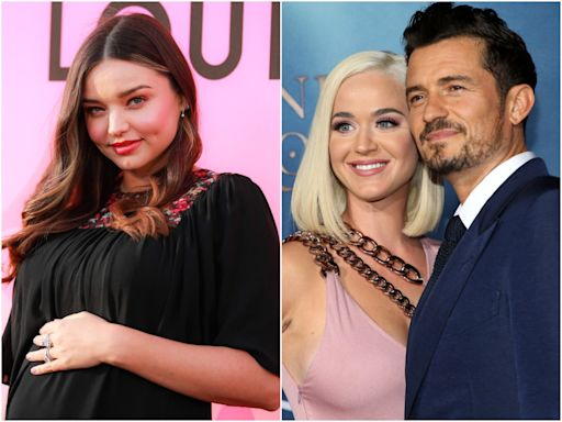 Miranda Kerr says she is 'so grateful' that her ex-husband Orlando Bloom met Katy Perry