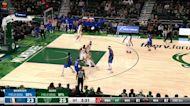 Josh Green with a dunk vs the Milwaukee Bucks