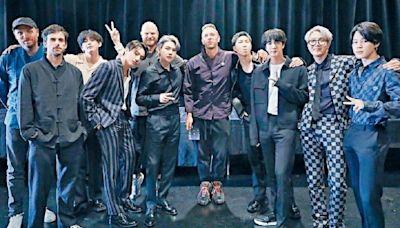 與Coldplay出新歌 BTS送韓服作紀念品