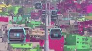Mexico City launches first cable car line