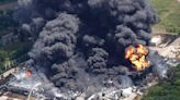 Massive Fire at Ill. Chemical Plant Injures Firefighter as Experts Fear It Could Burn for Days